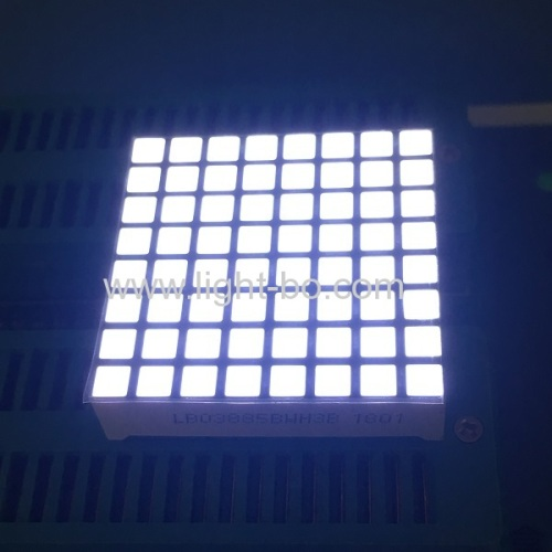 white dot matrix;8*8 square dot matrix; white square dot matrix; dot matrix led display