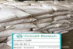 High puiry 99.6% 2 2-Azobisisobutyronitrile supplier CAS : 78-67-1 Appearance: white solid