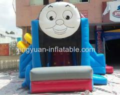 Hot Sale Thomas the train inflatable bounce house
