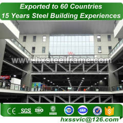 fabrication of steel structures and welded steel structures installed in Dakar
