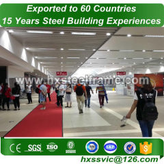 frame steel structure and welded steel structures environmental export to Laos
