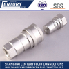 ISO7241-B Stainless Steel 316SS Hydraulic Quick Coupling BSP G1/2 Double Close Type