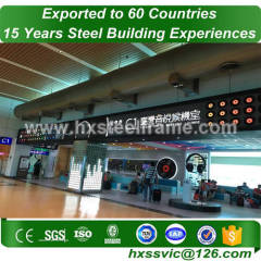 H steel column and welded steel structures with ISO standard to China customer