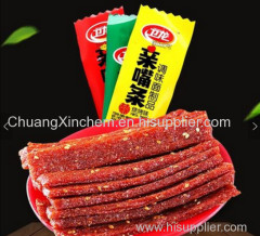 Famous brand snacks spicy dry tofu spicy gluten hot strip 5kgs with three differnt flavors