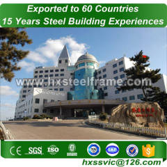 heavy duty steel structure and welded steel structures hot sale in Bosnia