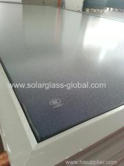Solar water heater solar panel cover coated glass