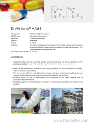Poly(1-vinylpyrrolidone-co-vinyl acetate) 25086-89-9 Poly(1-vinylpyrrolidone-co-vinyl acetate) 25086-89-9