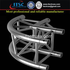 290x290mm Aluminum Quatro Trussing Arc-Shaped Angle 2-Way Connector