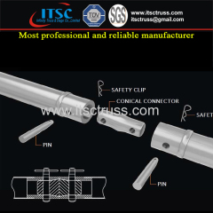 Aluminum Spigot Trussing Jointers for Quick and Easy Installation