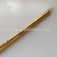 long lifetime medium wave infrared heating lamp for film stretching