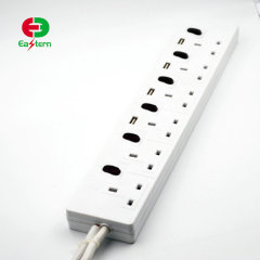 HOT UK Extension Sockets 6 AC Outlets 4 USB Charging Ports with Surge Protection Smart Power Strip