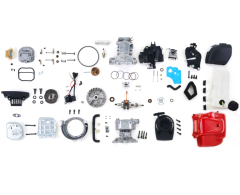 mist dust mistblower power sprayer motorized piston ring cylinder exhaust muffler coil gaskets spark crankshaft