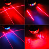 5LED+2Laser Waterproof Led Bycicle Rear Light