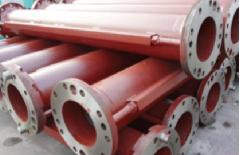 Large Diameter Bore Piling Flanged Drill Pipe273 mmfor Reverse Circulation Air Lift Drilling