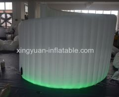 Inflatable Portable Mobile Photo Booth Spiral Wall