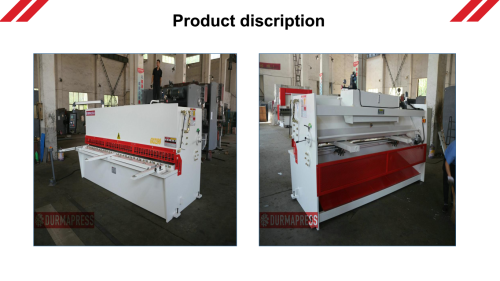 Real manufacturer for high quality NC hydraulic shearing machine/guillotine shear/Metal cutting machine