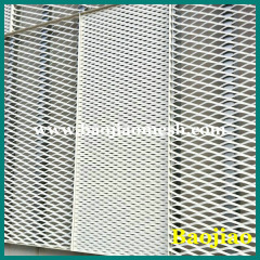 Building Facade Aluminum Expanded Metal Mesh
