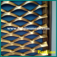 1m width Aluminium Expanded Wall Cladding Sheet