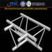 3-Way T-Shape Corner for Aluminum Lighting Truss 290x290mm Triangular Trussing
