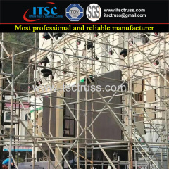 Layer Truss Hot-Dip Ringlock Scaffolding Towers for Speakers System