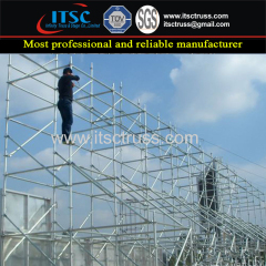 How to Assemble the Ringlock Scaffolding Quickly ?