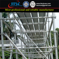 Construction Metal Material Steel Scaffolding for Ladder Tower System