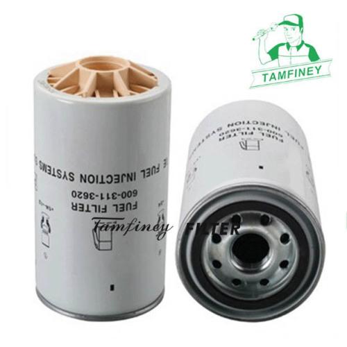 Pc200-8 fuel filter for Komatsu 600-311-3620 600-319-3620 600-319-3610 600-311-3610 6003113620 6003193620 6003193610 600