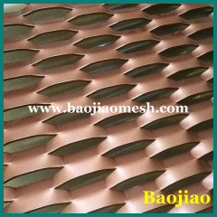Powder Coated Aluminum Expanded Metal Sheet