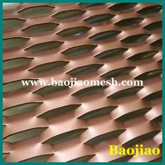 Treillis Métallique Déployé En Aluminium Anodisé