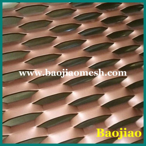 Anodizing Aluminum Expanded Metal Mesh