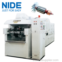 high temperature Automatic lelectric motor armature varnish trickling machine
