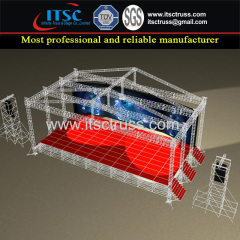AlumInum Truss Stages Pyramid Roof System for Concerts