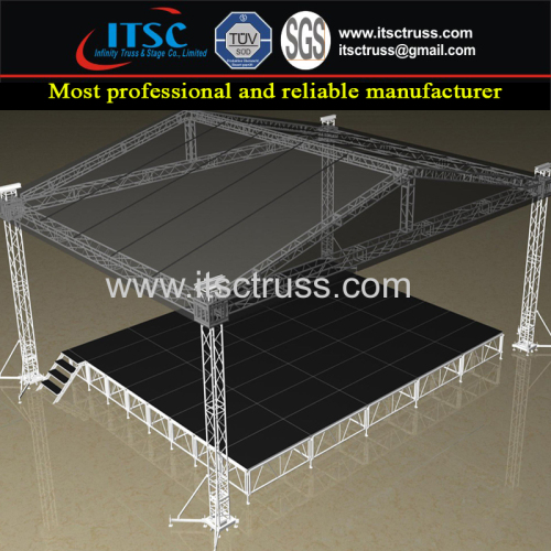 4 Tower Structure 40x30ft Economic Pyramid Roof Truss System