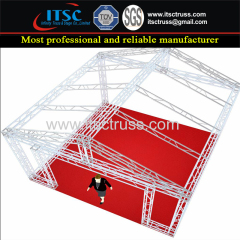 Aluminum Lighting Truss Pyramid Roofing for Car Exhibits