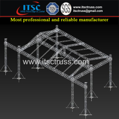 China Lighting Trussing Roofing with Heavy Duty Capacity