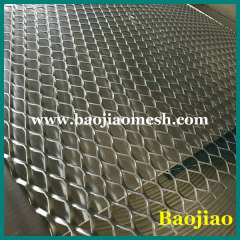 Flattened Expanded Metal Mesh Sheet