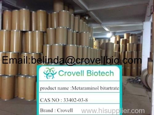 high quality Metaraminol bitartrate 33402-03-8