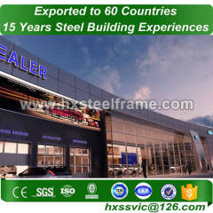 light weight steel and lightweight steel frame fabricate for Libreville buyer