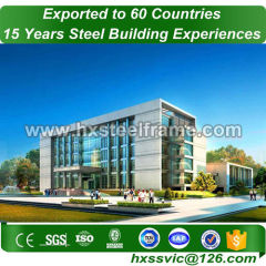 modular steel structures formed metalbuildings CE approved to Dubai market