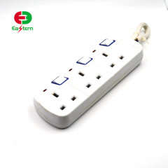 3 way power strip with GS approveal extension socket
