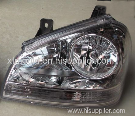 Auto Head Light Lampshade Injection Mould