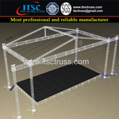 Aluminum Trussing Gable Roofing Trussing 6 Towers Structure