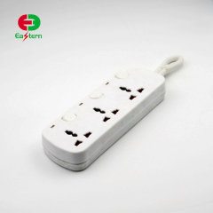10 amp universal outlet AC multiple power 3 way electrical extension socket