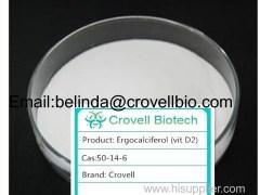 Pharmaceutical Grade 99% Ergosterol/Ergosterol Powder CAS 50-14-6