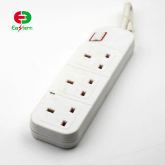 IP44 3 Way Extension Lead Socket with USB port
