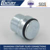 9C/9D VKA Metric Female 24 Cone Plug tap Hydraulic Hose Adapter
