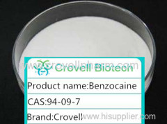Hot sale Benzocaine CAS:94-09-7 MF:C9H11NO2
