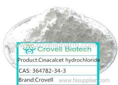 Cinacalcet hydrochloride CAS:364782-34-3 MF:C22H23ClF3N