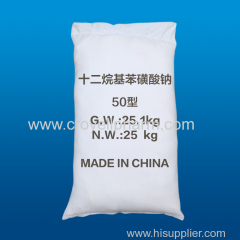 Sodium dodecylbenzenesulphonate 25155-30-0 Sodium dodecylbenzenesulphonate 25155-30-0