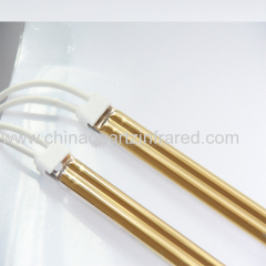 Gold Coating Infrared Heat Lamp for drying equipment